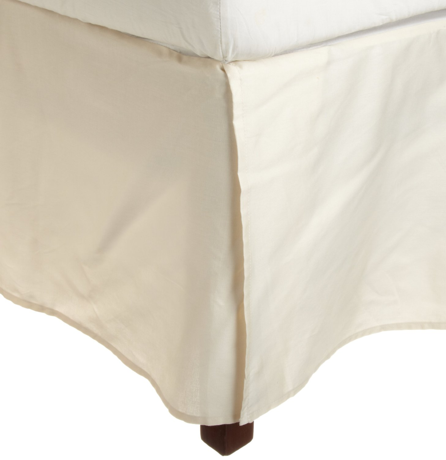 luxury 300 thread count 100 extra long egyptian giza cotton bed skirts solid ebay. Black Bedroom Furniture Sets. Home Design Ideas