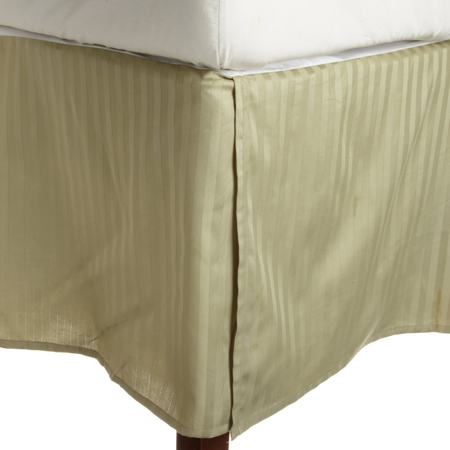 GoLinens: Ultra Soft & Exquisitely Smooth Wrinkle Free Striped Bed Skirts -100 % Brushed Microfiber at Sears.com